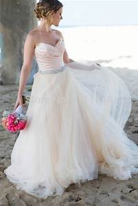 awesome pleated sweetheart beach blush wedding dress 2015 With blush beach wedding dress