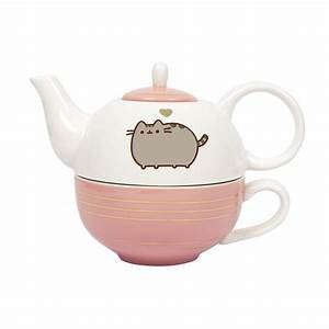 Tea For One Set : pusheen gold leaf tea for one set ~ Orissabook.com Haus und Dekorationen