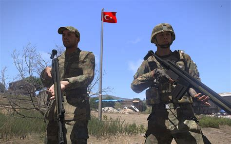 tmt turkish army weapons  wears modules armaholic