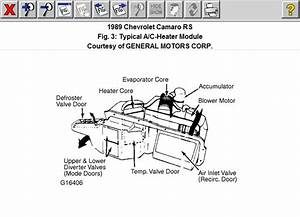 1989 Camaro Heat  Ac Problem  1989 Camaro Heating  Ac Problem  Doesn