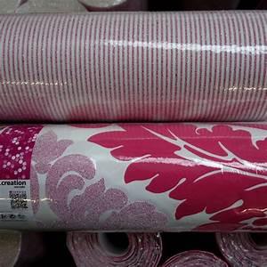 vliestapete bling bling streifen pink 3049 33 With balkon teppich mit tapete bling bling