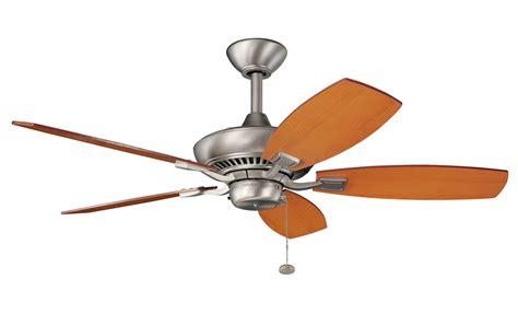 ceiling fan without light kit kichler 300107ni canfield ceiling fan