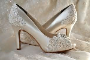 satin wedding shoes vintage satin lace wedding shoes pinkous