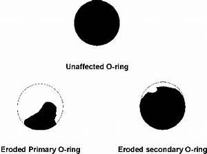 Space Shuttle: Eroded O-Ring Illustration