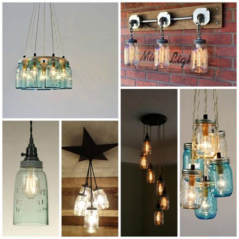 Kitchen Jars Shopping by Jar Kitchen Lights For Your Home The Country Chic