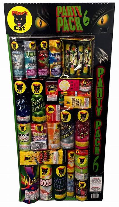 Pack Cat Party Fireworks Artillery Shells Assortments