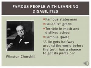 Learning About ... Learning Difficulty Quotes