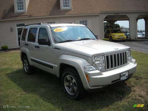 beige jeep liberty 2008 light graystone pearl jeep liberty sport 4x4