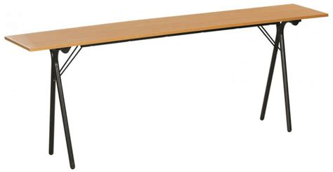 location bureau à l heure table pliante 200x40 plateau colori hêtre pieds pliants
