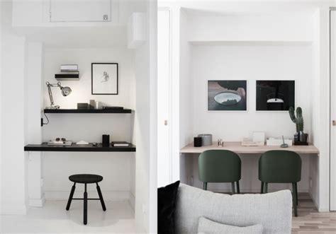 idee bureau petit espace 20 inspirations pour un petit bureau joli place