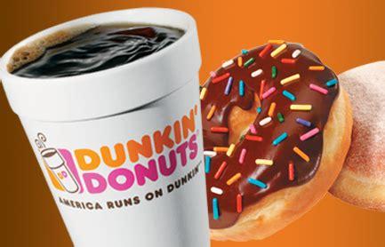 Dunkin Donuts Box O Joe Coupon
