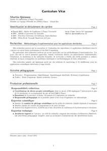 resume en francais prepa curriculum vitae en fran 231 ais