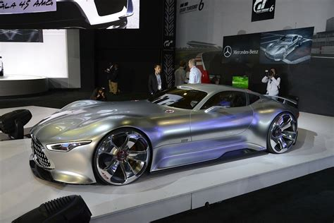 Mercedes-benz Amg Vision Gran Turismo Looks Badass Live As