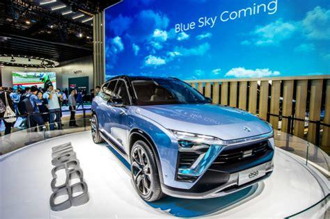 startup nio  launch   electric car  china