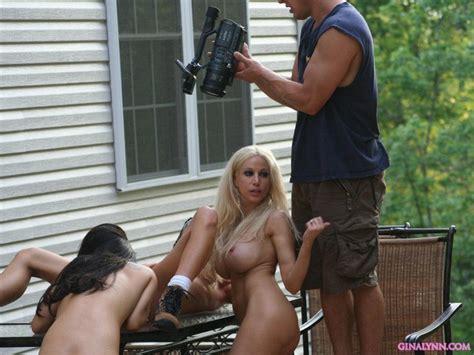 hot lesbian pornstars having fun in the backyard pichunter