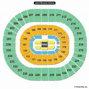Jack Breslin Student Events Center Seating Chart