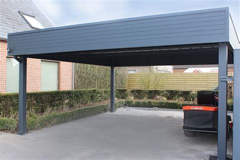 Carports En Aluminium Et En Bois Pour Voitures  Smf Services