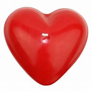Bougie coeur rouge 9cm, décoration mariage, St Valentin Féezia™