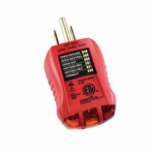 Gardner Bender Outlet And Gfci Tester-gfi-3501
