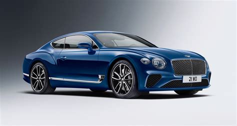 2019 Bentley Continental Gt Revealed Ahead Of Its