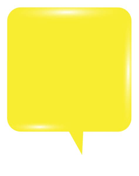 bubble speech yellow png clip art image gallery yopriceville high