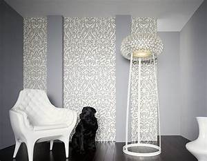 Wandgestaltung Mit Tapeten : wandgestaltung barocke tapeten ~ Lizthompson.info Haus und Dekorationen