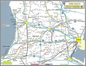 Southern Michigan Map