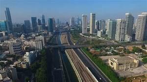 Tel Aviv bird eye view - YouTube