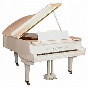 Steingraeber and Sohne White Piano at 1stdibs