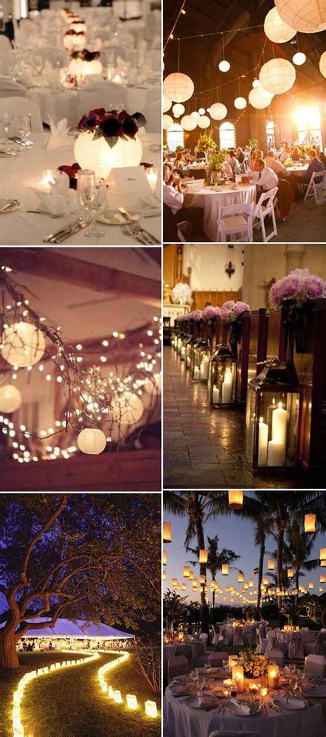 lanterns inspired rustic wedding reception