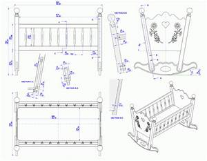 Rocking baby cradle plan