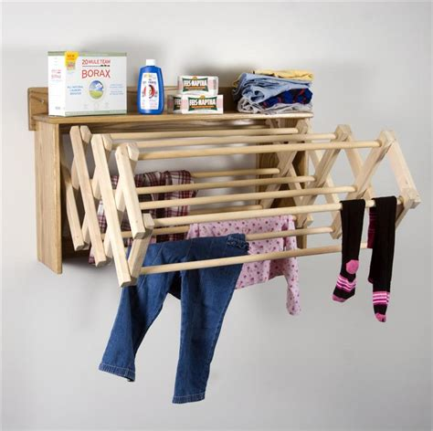 accordion drying rack wall mount save space with wall mounted drying rack home designs