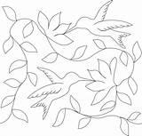 Quilting Hummingbird Patterns Motion Bordados Bordado Templates Mexicano Quilt Stencils Patrones Bordar Machine Stencil Disenos Laser Dibujos Aguja Mano Arte sketch template