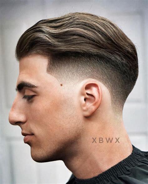 Slick Back Mens Hair Cuts Medium