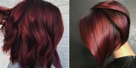Wine Red Hair Dye