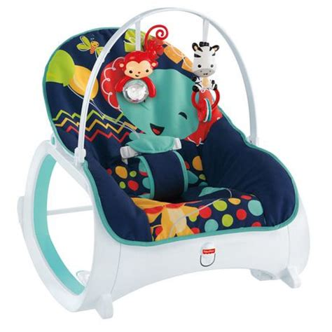 chaise musicale fisher price fisher price infant to toddler rocker midnight rainforest walmart canada