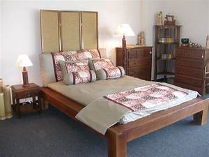 balinese bed With balinese headboard