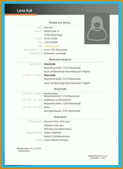Lebenslauf Muster Kostenlos Word by Vorlage Word Lebenslauf Kostenlos 11 Strategien F 252 R 2019