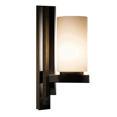 ondrian 3 light wall sconce by hubbardton forge