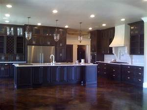 traditional jewel kitchen oklahoma city by bella vici With kitchen cabinets lowes with coca cola wall art