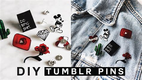 DIY TUMBLR PINS Minimal Easy & SUPER Affordable