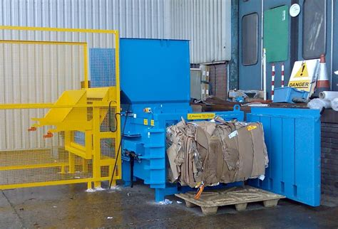whs hd semi automatic baler waste handling solutions