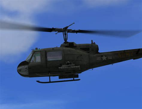 Bell Uh 1 Huey Fsx Helicopter Fsx Fsx Add Ons By
