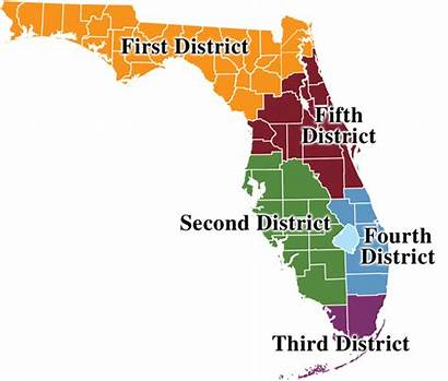 District Florida Regional Map Counsel Dca Office