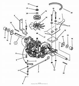 Snapper Lt180h48fbv2 48 U0026quot  18 Hp Hydro Drive Tractor Series F Parts Diagram For Transmission Group