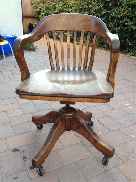 antique wooden swivel desk chair 22 best images about office chairs on pinterest vintage