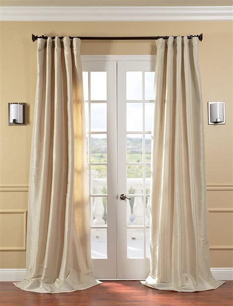 faux silk taffeta drapes curtains antique beige faux silk taffeta curtains drapes ebay
