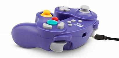 Controller Nintendo Switch Gamecube Powera Wired Purple