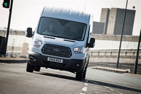 Ford Transit Review by New Ford Transit Review Parkers
