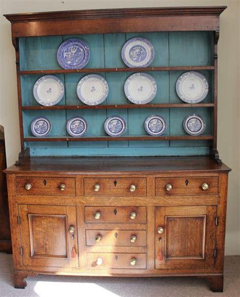 antiques stdibs plate racks oak dresser furniture